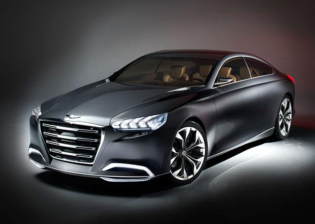 Hyundai HCD-14 Genesis Concept: Korejsk� pr�mie bl�zk� budoucnosti