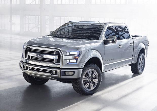 Ford Atlas je ukázkou budoucí generace nejprodávanějšího auta v USA