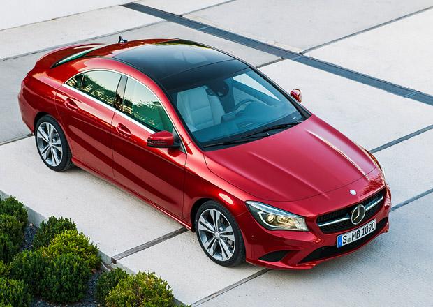 Mercedes-Benz CLA dostane 5 motorů, bude o 120 tisíc dražší než třída A