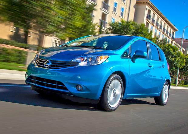 Nissan Versa Note: Malé MPV se představilo v Americe