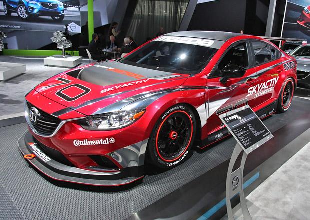 Mazda6 Skyactiv-D Grand-Am: Závody s vůní nafty