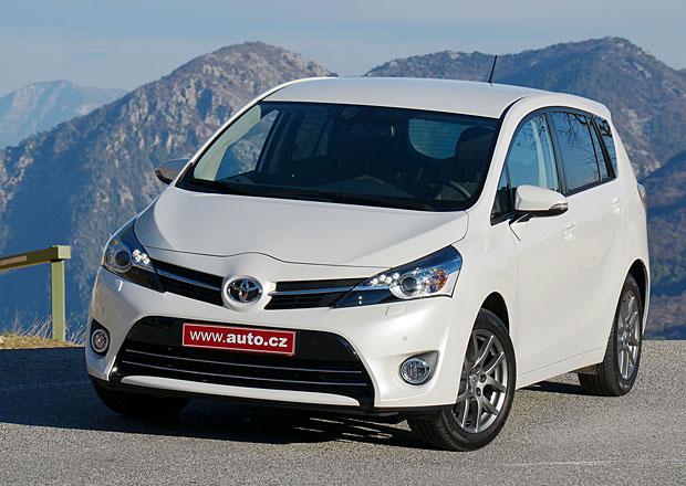 Toyota Verso: První jízdní dojmy
