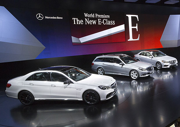 Mercedes-Benz t��dy E: Facelift jde do prodeje v dubnu