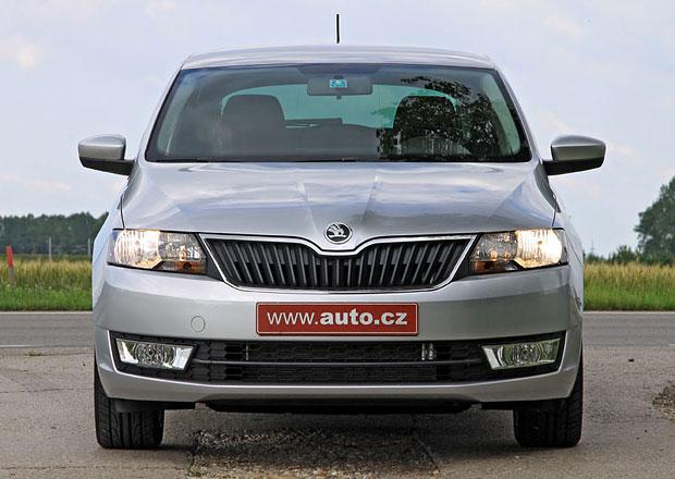 Škoda Rapid Fresh: Čtyřválec 1,2 TSI nyní za 284.900 Kč