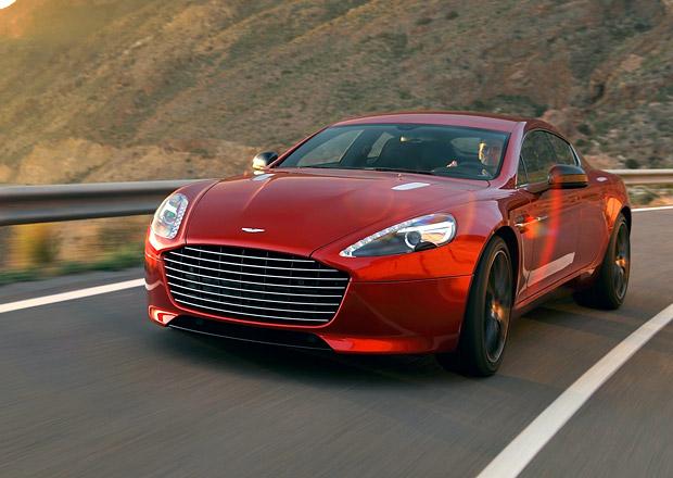 Aston Martin Rapide S: Supersportovní sedan nabídne výkon 410 kW