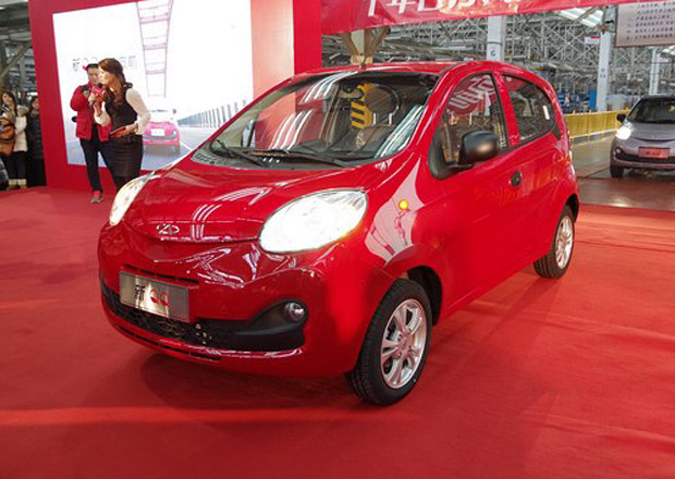 Nový Chery QQ místo Matize kopíruje Citroën C1