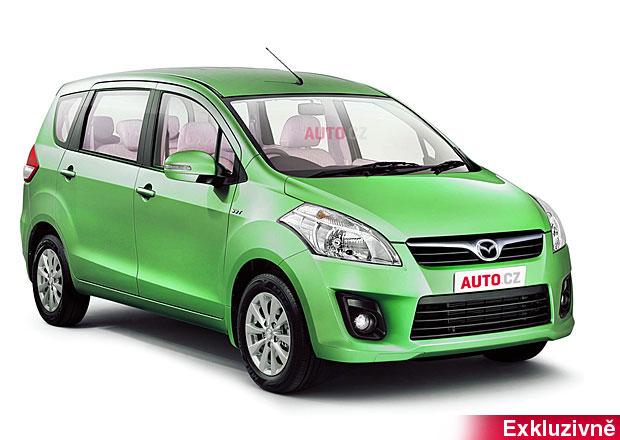 Mazda VX-1 na první fotce: Nové MPV bude přeznačené Suzuki