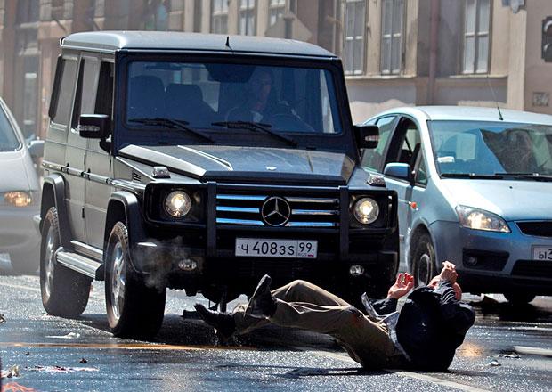 V nejnovější Smrtonosné pasti si zahraje hned 14 modelů Mercedes-Benz