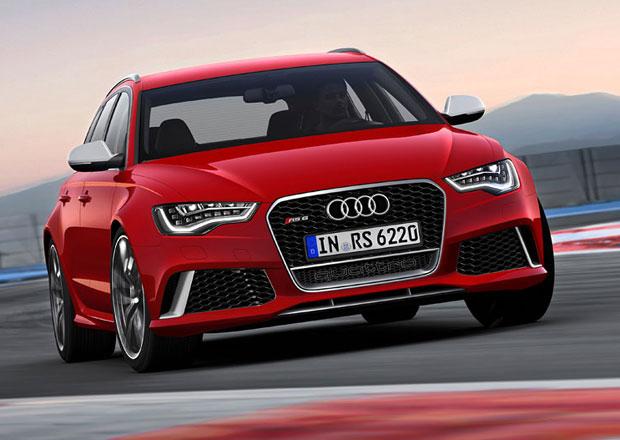 Audi chystá výkonnější variantu RS 6 Avant Plus