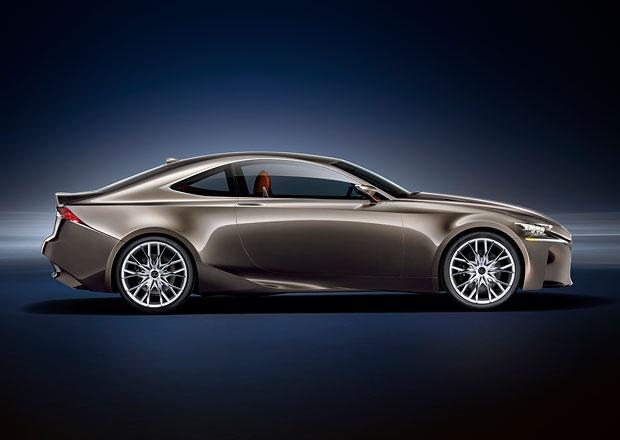Ostrá verze nového kupé Lexus se zřejmě bude jmenovat RC F