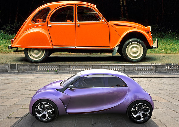 Designový duel: Citroën 2CV vs. REVOLTe