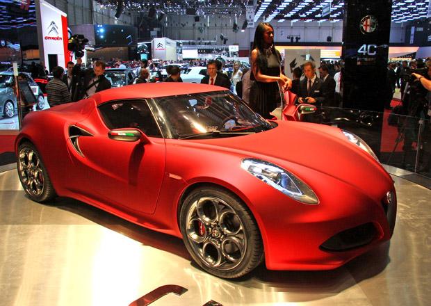 Plány Fiatu na rok 2013: Alfa Romeo 4C, Viper a nové Jeepy