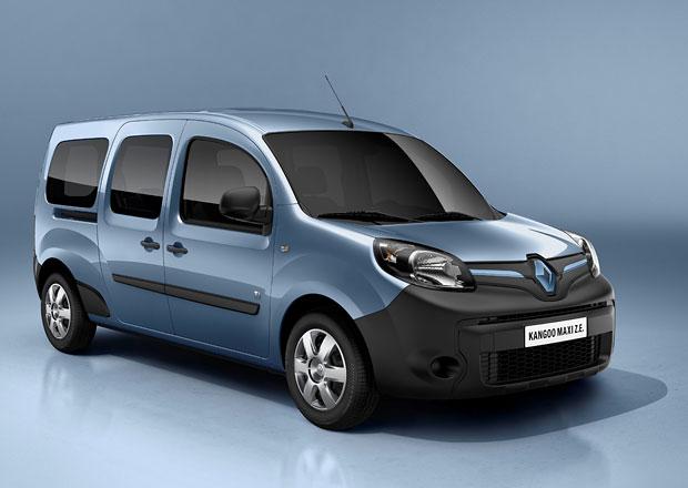 Renault Kangoo s novým vzhledem a lepší výbavou