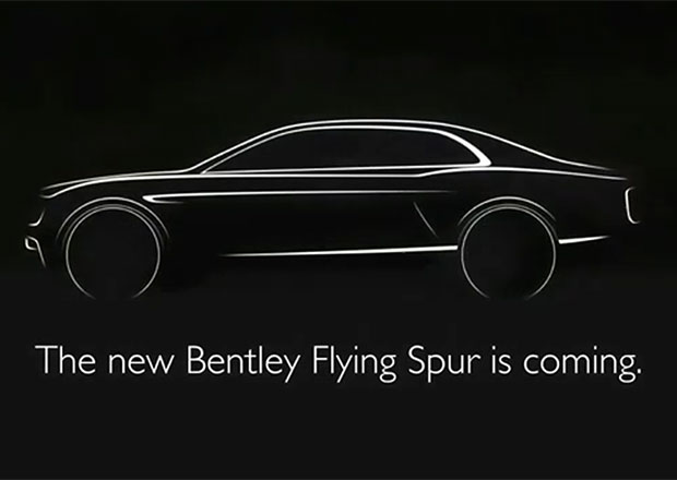 Nový Bentley Flying Spur se předvede v Ženevě