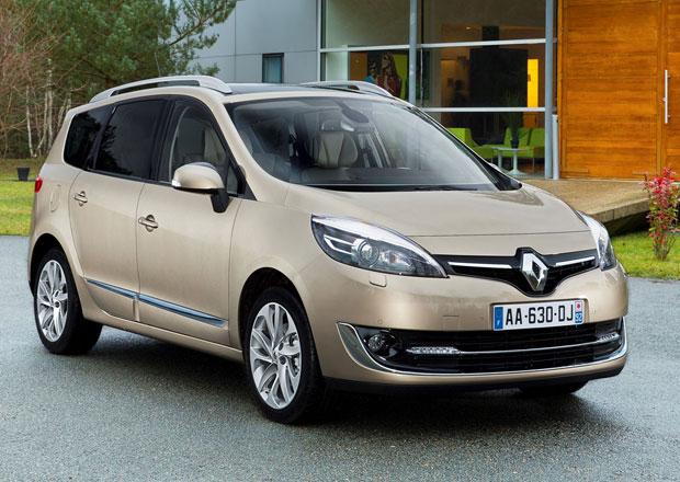 Renault Scénic a Grand Scénic: Facelift po vzoru Scénicu XMOD