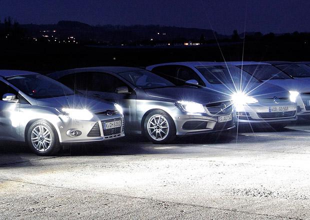 ADAC: Nejlepší adaptivní světla má VW Golf, nejhorší Ford Focus