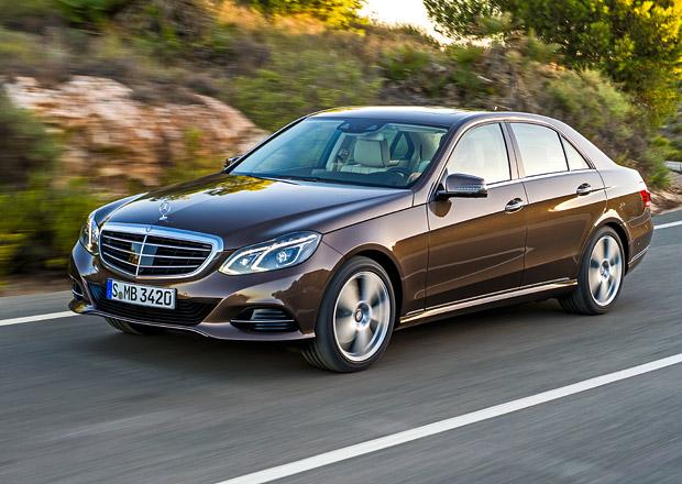 Faceliftovaný Mercedes-Benz E zná české ceny
