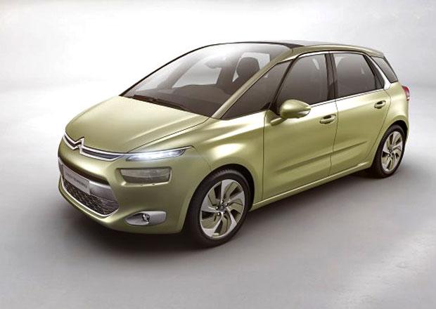 Citroën Technospace: Nová C4 Picasso se ukáže v Ženevě, zatím jen jako koncept
