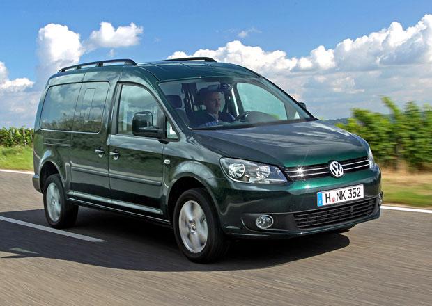 Volkswagen Caddy: 125 kW nejen pro výroční Edition 30