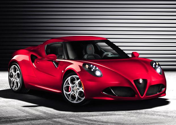 Alfa Romeo 4C: 1,8 Turbo a dvouspojkov� p�evodovka