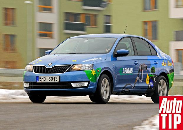 Škoda Rapid 1.2 TSI – LPG žije