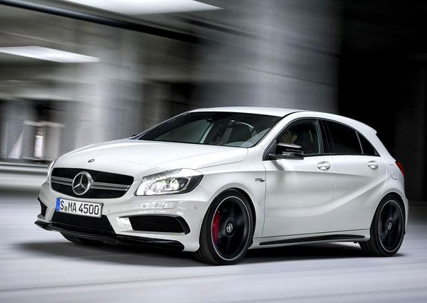 Mercedes-Benz A 45 AMG: Nejsilnější čtyřválec světa má 360 koní