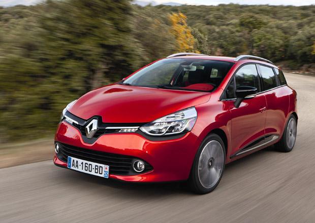 Renault Clio Grandtour: Malé francouzské kombi podrobně