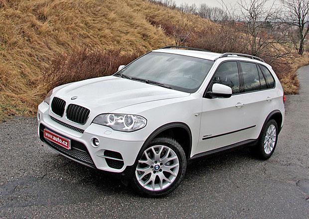 BMW X5 m� probl�my s brzdami