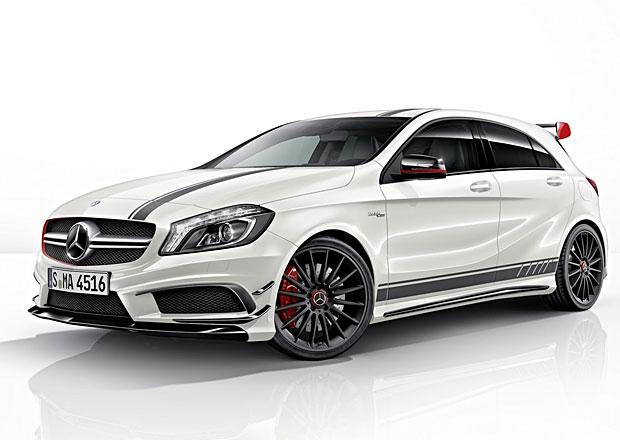 Mercedes-Benz A 45 AMG Edition 1: Pruhy a drsnější vzhled