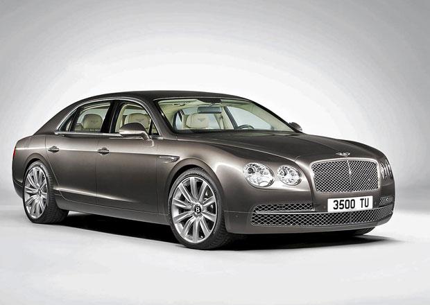 Bentley d�le poodhaluje limuz�nu Flying Spur (+foto)