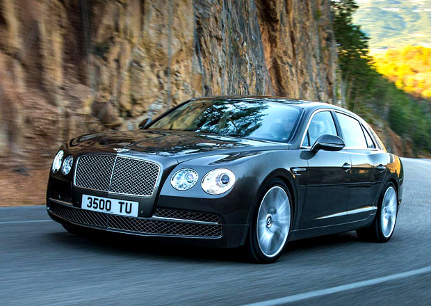 Bentley Flying Spur 2014: 625 koní, 322 km/h a wi-fi