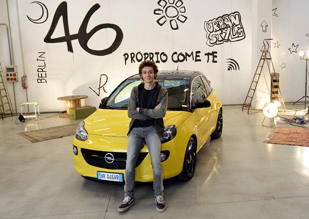 "Valentino Rossi ""tváří"" Opelu Adam"