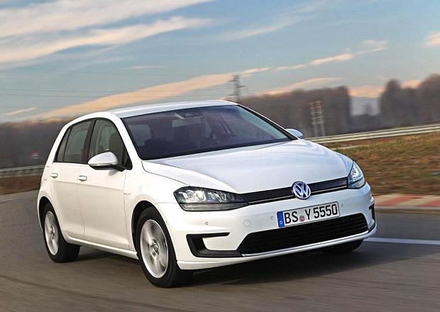 Volkswagen e-Golf: Golf na baterky ujede 175 kilometrů