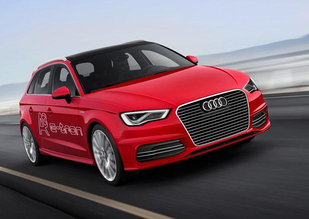 Audi A3 e-tron: Nový Sportback jezdí i na elektřinu