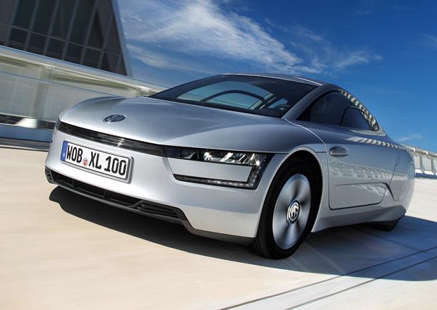 Volkswagen XL1: 795 kg t�k� hybridn� spor���ek um� a� 160 km/h