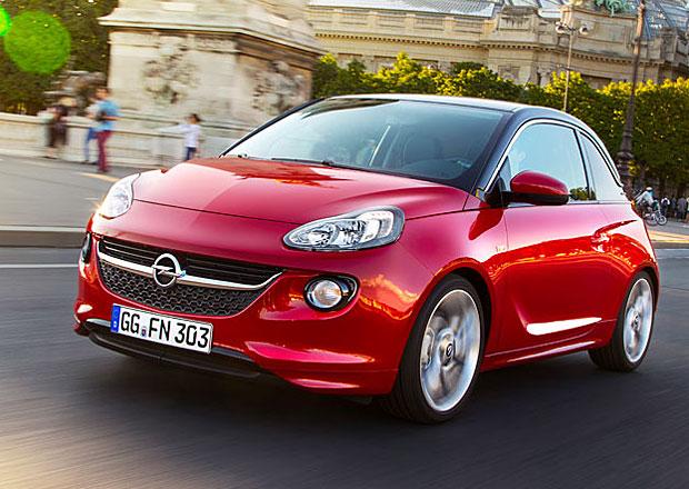 Opel Adam na českém trhu startuje na 249.900 Kč