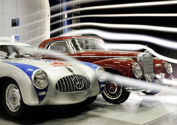 Proč mají Mercedesy vynikající aerodynamiku?