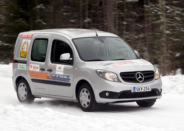 Mercedes-Benz Citan, Vito a Sprinter na sněhu a ledu