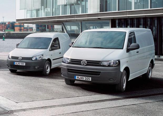 Volkswagen Užitkové vozy: T5 a Caddy nejúspěšnější modely v Evropě