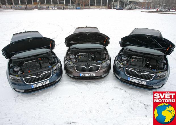 Srovnání: Škoda Octavia 1.2 TSI vs. 1.4 TSI vs. 1.6 TDI