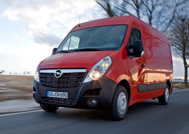 Opel Movano: Vyšší výkon, nižší spotřeba a nová verze Combi