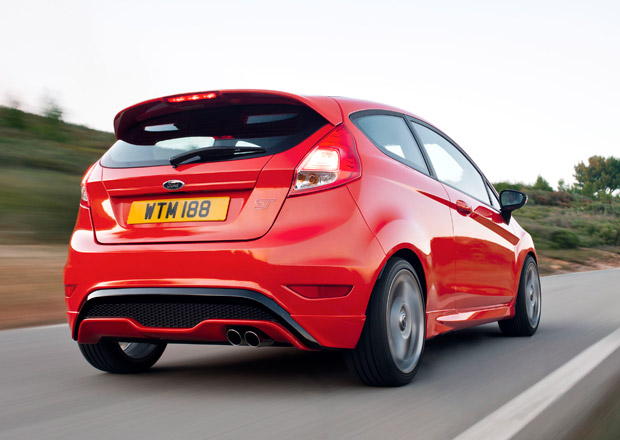Ford Fiesta ST: 134 kW pořídíte za 460 tisíc Kč