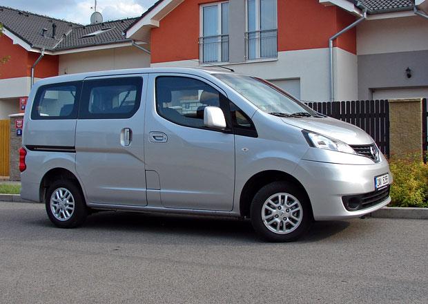 Test: Nissan NV200 Evalia - N�zev a s�la