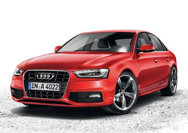 Audi A4 Black edition: S line paket a černá optika za 32 tisíc