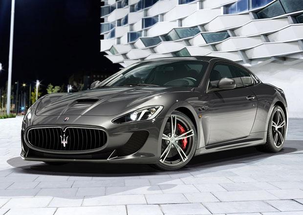Maserati GranTurismo MC Stradale dostalo zadní sedačky. K čemu?