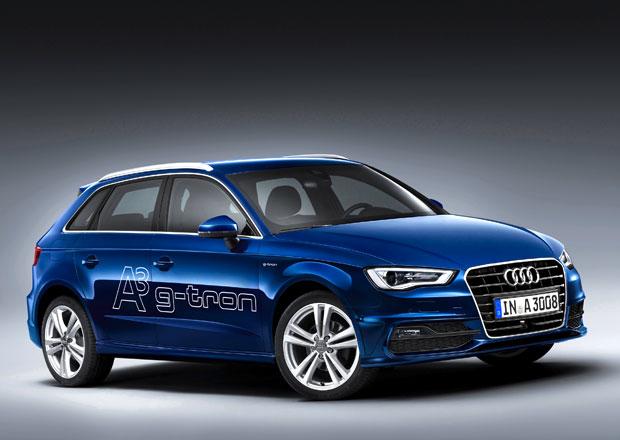 Audi A3 Sportback g-tron: Audi jde do plynu