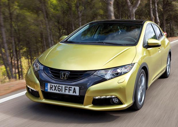Honda Civic 1,6 i-DTEC je o 35.000 Kč levnější než 2,2 i-DTEC