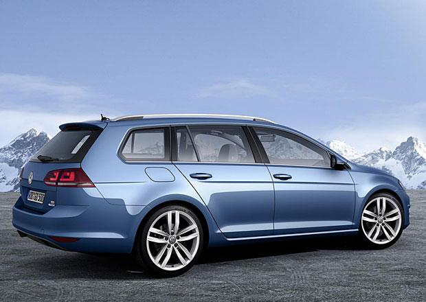 Volkswagen Golf Variant: Sedmičkové kombi (ne)oficiálně