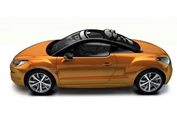 Peugeot RCZ View Top Concept: S nebem nad hlavou