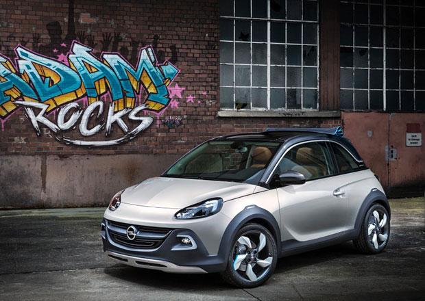 Opel počítá s výrobou oplastovaného prcka Adam Rocks